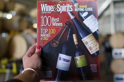 Wine and Spirits magazine cover