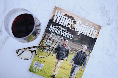 Cover of Wine and Spirits Magazine