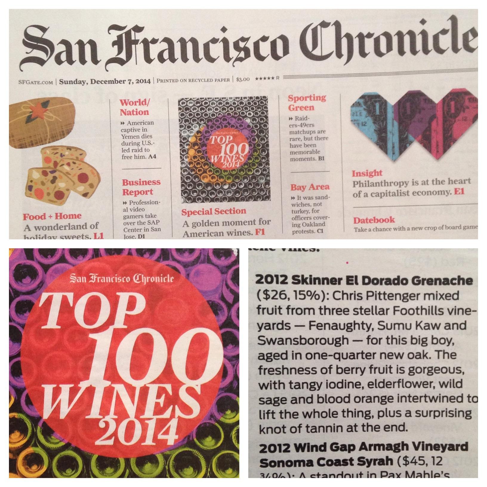 San Francsico Chronical Newspaper