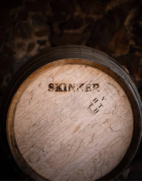 Skinner wine barrell