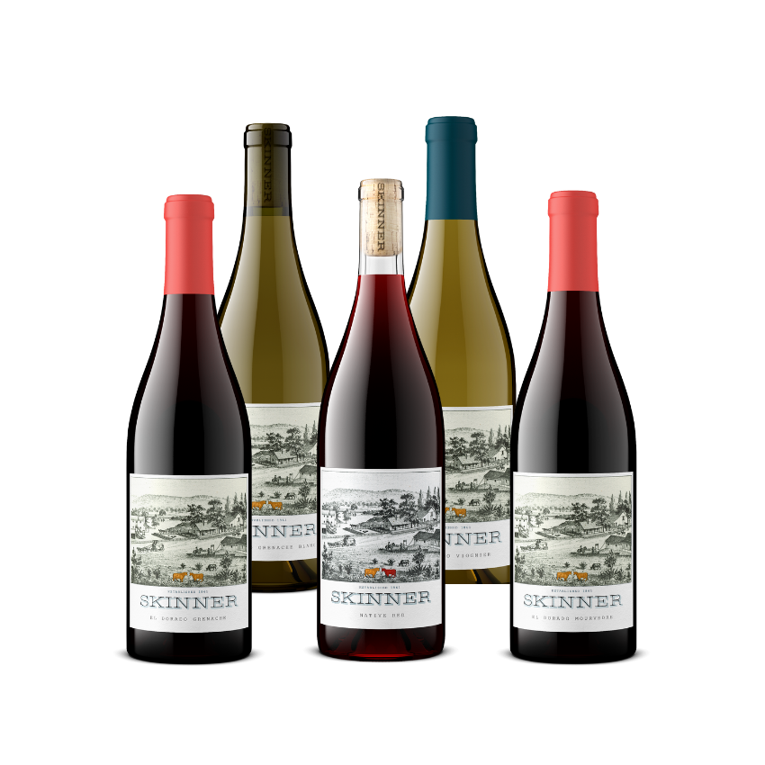 Skinner Winery medal winners for the Sunset International Wine Competition